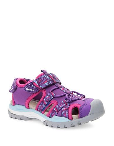 Geox J Borealis Girls Sandals-PURPLE-10