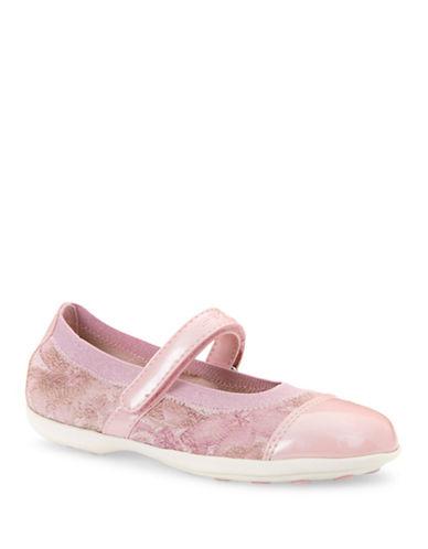 Geox J Jodie Printed Mary Jane Shoes-ROSE-8