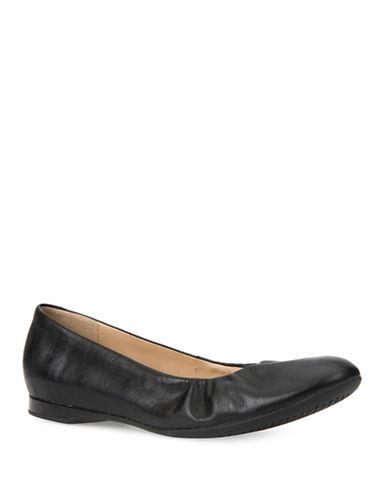 Geox D Lamulay Ballet Shoes-BLACK-EUR 39/US 9