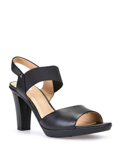Geox Jadalis Leather Sandals-BLACK-EUR 36.5/US 6.5
