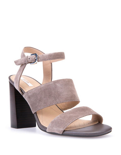 Geox Audalies Suede Sandals-TAUPE-EUR 39/US 9