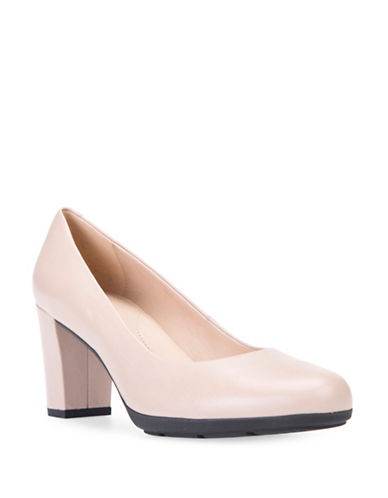 Geox Annya Leather Pumps-LIGHT TAUPE-EUR 37.5/US 7.5