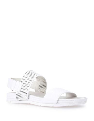 Geox Koleos Leather Sandals-WHITE-EUR 38/US 8