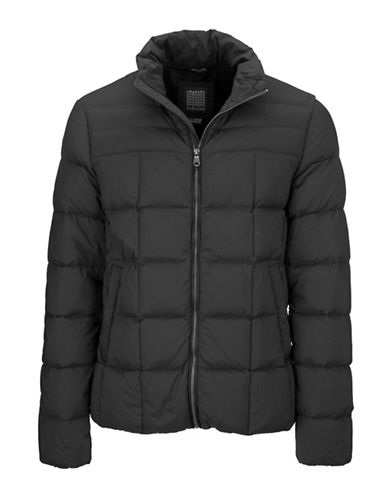 Geox Water-Repellent Down Jacket-GREY-48
