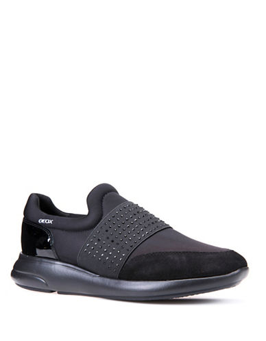 Geox Ophira Slip-On Sneakers-BLACK-EUR 38/US 8