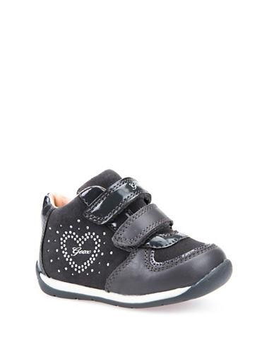 Geox Rhinestone Respira Sneakers-GREY-3