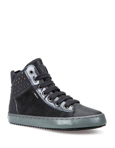 Geox Kalispera Respira High-Top Sneakers-GREY-2