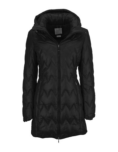 Geox Water Repellent Puffer Jacket-BLACK-42