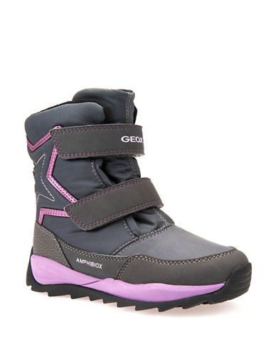 Geox Orizont ABX Star Respira Winter Boots-GREY-2