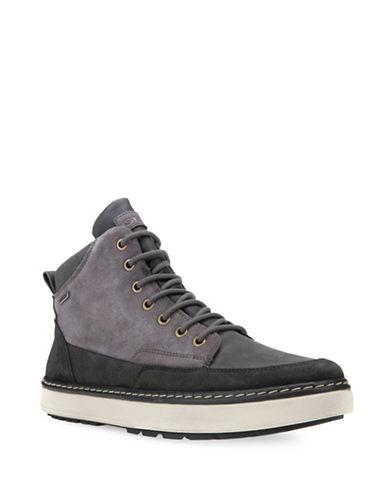 Geox Mattias Respira ABX Suede Winter Boots-GREY-EU 42/US 9