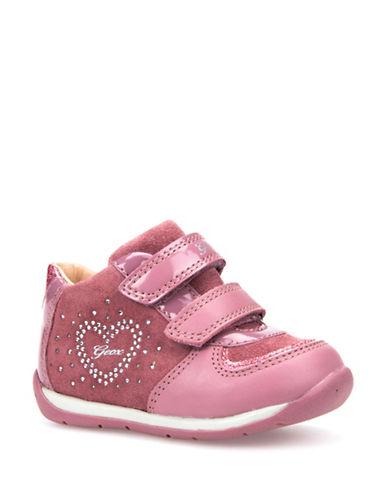 Geox Rhinestone Respira Sneakers-PINK-4