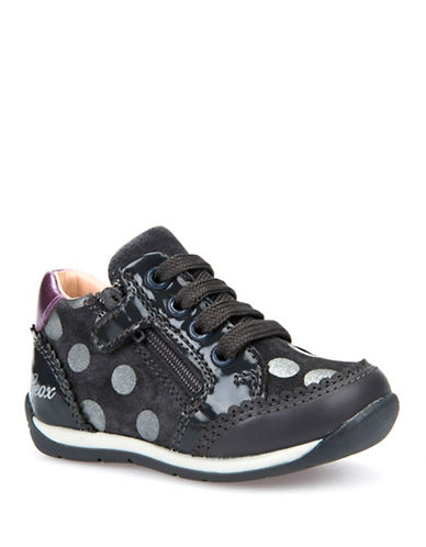 Geox Respira Dotted Sneakers-GREY-5.5