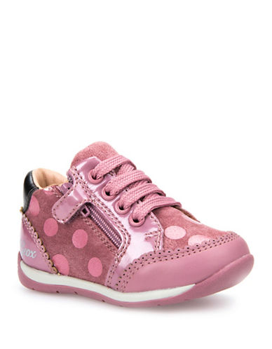Geox Respira Dotted Sneakers-PINK-6.5