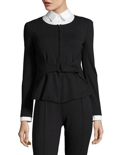 Armani Collezioni Double-Zip Jacket-BLACK-EUR 38/US 2