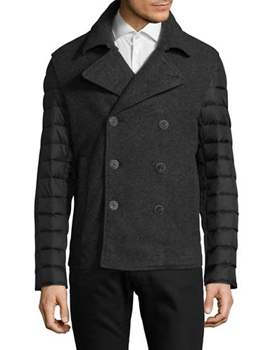 Armani Exchange Armoni Coat-BLACK-Medium