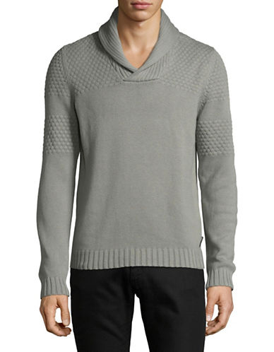 Armani Exchange Ax Wool Pullover-GREY-Small