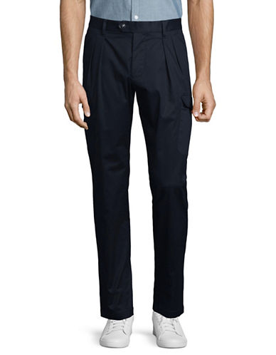 Armani Exchange Cargo Jogger Pants-NAVY-30
