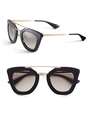 Prada Tavi 49mm Sunglasses-BLACK-One Size