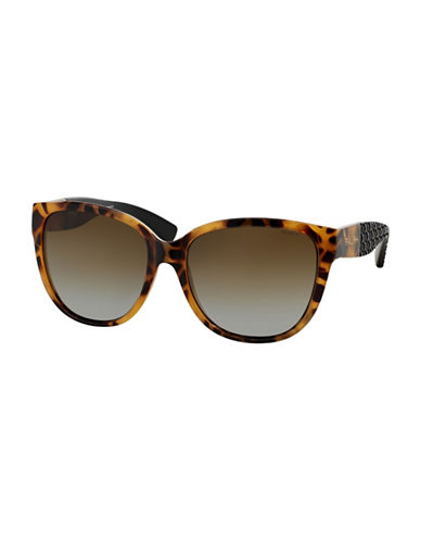 Ralph By Ralph Lauren Eyewear RA5181 57mm Cat-Eye Sunglasses-TORTOISE-57 mm