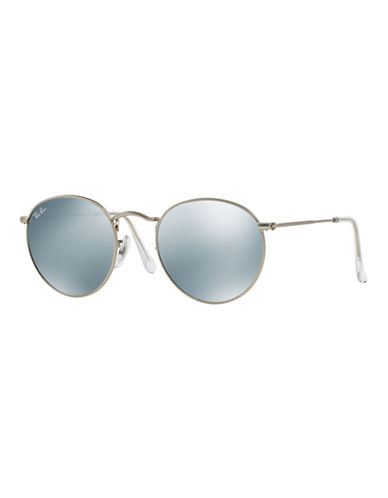 Ray-Ban John Lennon Round Sunglasses-GUNMETAL/SILVER MIRRORED LENSES (019/30)-50 mm
