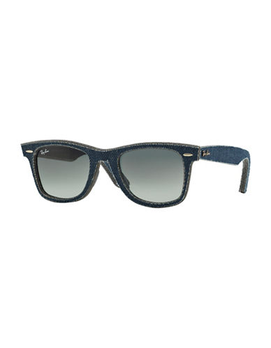 Ray-Ban 50mm Wayfarer Sunglasses-BLACK-50 mm