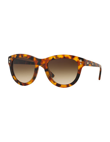 Versace Pop Chic Studs Cateye Sunglasses-MATTE HAVANA-One Size