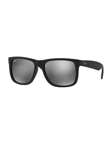 Ray-Ban Polarized  55mm  Wayfarer Sunglasses-BLACK-55 mm