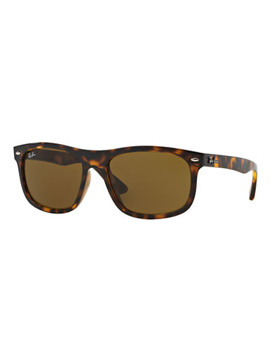 Ray-Ban High Street 59mm Wayfarer Sunglasses-TORTOISE (710 73)-Small