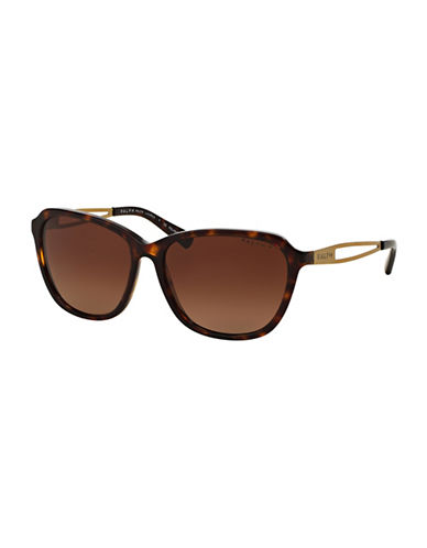 Ralph By Ralph Lauren Eyewear 57mm Square Sunglasses-BROWN-One Size