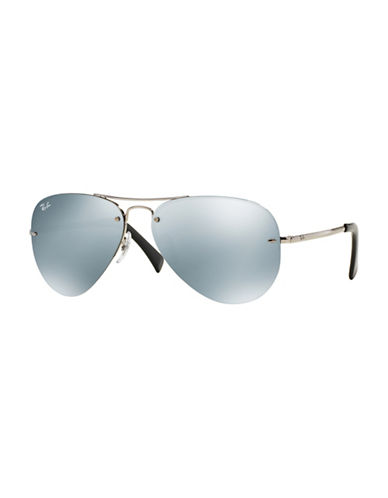 Ray-Ban 0RB3449 59mm Pilot Sunglasses-GREY-59 mm