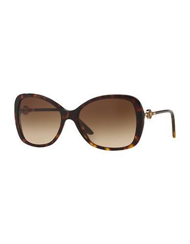 Versace 0VE4303 58mm Butterfly Sunglasses-HAVANA-One Size