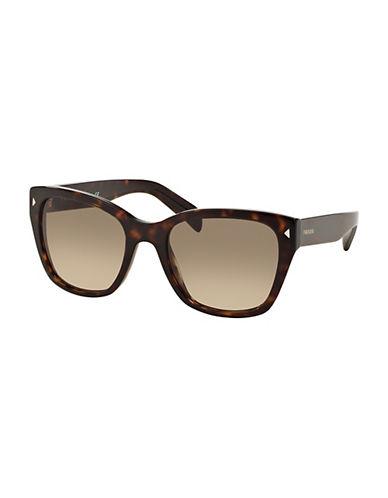 Prada 0PR09SS 54mm Square Sunglasses-HAVANA-One Size
