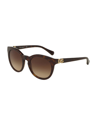 Dolce & Gabbana 0DG4279 52mm Phantos Sunglasses-HAVANA-One Size