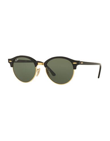 spot-havana-51mm-circle-sunglasses by ray-ban