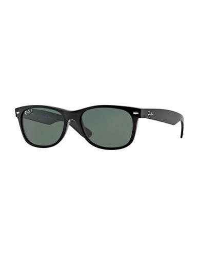Ray-Ban 58mm Square Wayfarer Sunglasses-BLACK-58 mm