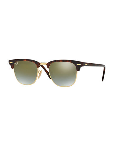 Ray-Ban 51mm Club Master Square Sunglasses-BLACK-51 mm