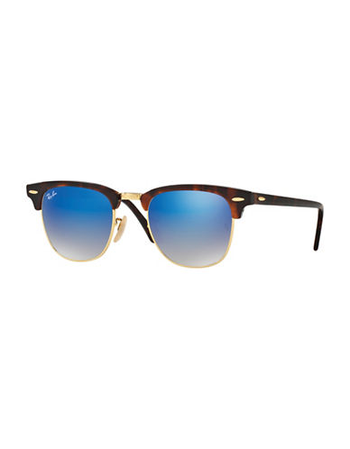 Ray-Ban 51mm Club Master Square Sunglasses-BLUE-51 mm