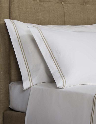 Frette Set of Two Hotel Classic King Pillowcases-KHAKI-King
