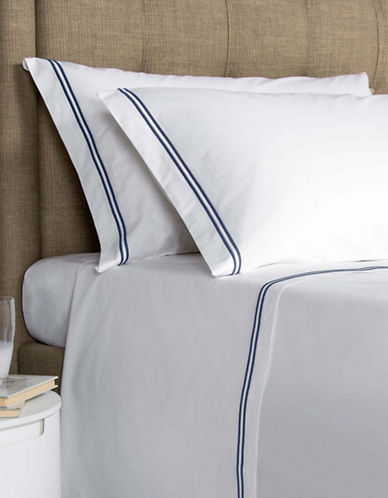 Frette Set of Two Hotel Classic King Pillowcases-NAVY-King