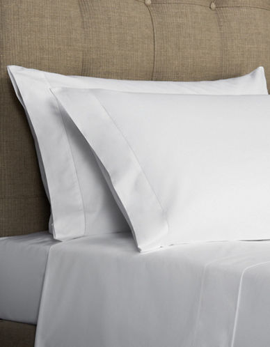 Frette Two-Pack Ajour Egyptian Cotton Pillowcases-WHITE-Standard