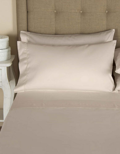 Frette Single Ajour Egyptian Cotton Pillowcase-SANDSTONE-King