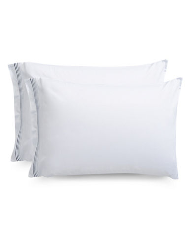 Frette Cruise Pillowcase-GREY-Standard