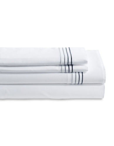 Frette Cruise Three-Piece Sheet Set-GREY-King