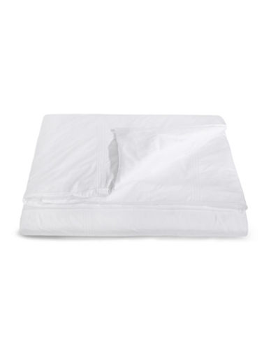 Frette Cruise Cotton Duvet Cover-WHITE-Queen