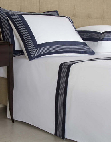 Frette Porto Four-Piece Sheet Set-BLUE-Queen