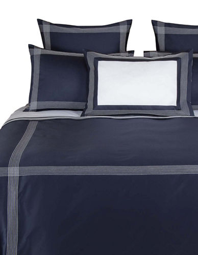 Frette Porto Duvet Cover-BLUE-Queen
