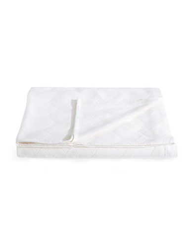 Frette Riviera Quilted Coverlet-WHITE-King