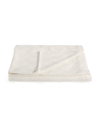 Frette Riviera Quilted Coverlet-IVORY-King