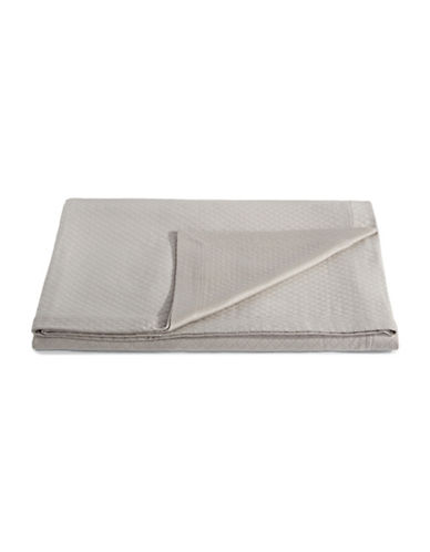 Frette Melody Quilted Coverlet-GREY-Queen