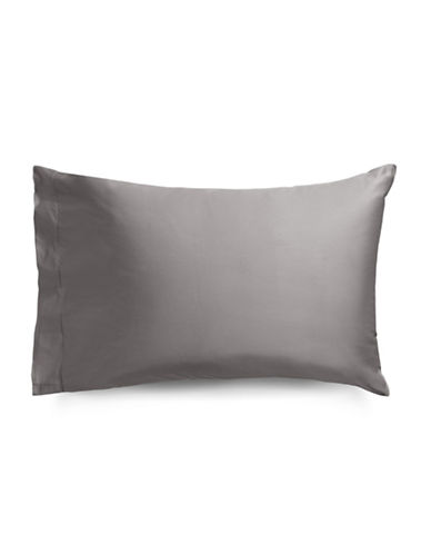 Frette Two-Pack Single Ajour Cotton Pillowcases-DARK GREY-Standard